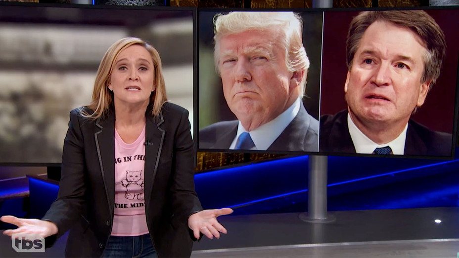 Culture Wars- Episode 69 - October 17, 2018 Act 1 - Full Frontal on TBS-Screen shot-H 2018