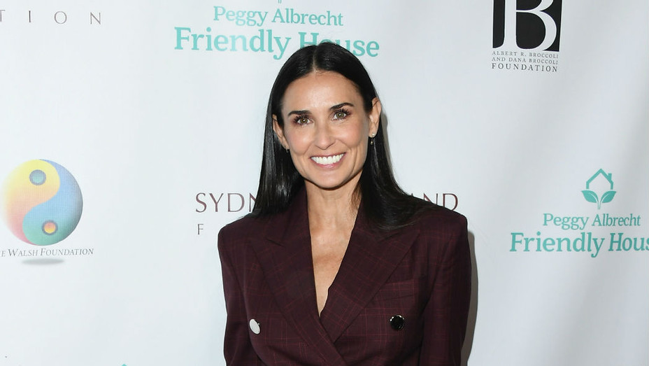 Demi Moore Friendly House Luncheon - Getty - P 2018