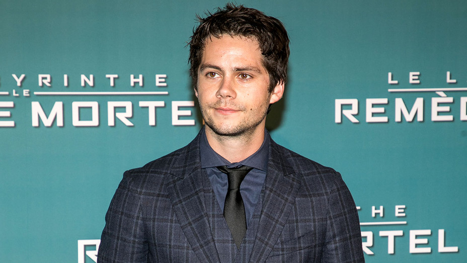 Dylan O'Brien attends the 'Maze Runner: The Death Cure' Premiere -Getty-H 2018