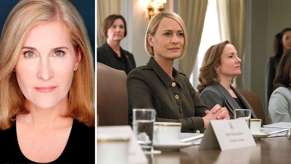 Elizabeth Thorp and House of Cards Final Season Split - H 2018