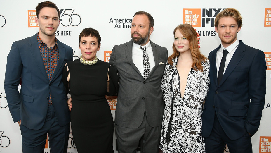 'The Favourite' Cast and Director at NYFF Premiere - H Getty 2018