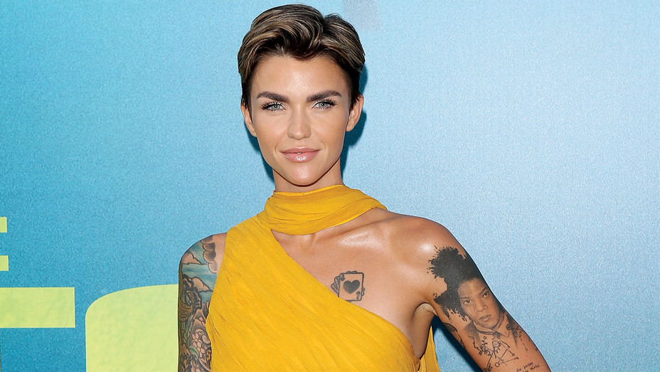 Ruby Rose - premiere of The Meg - Getty - H 2018