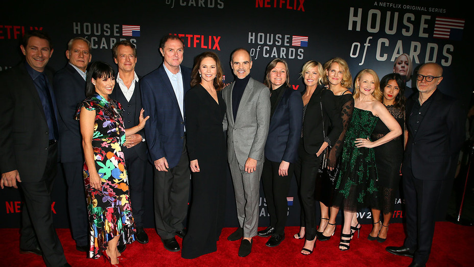House of Cards' Season 6 World Premiere on October 22, 2018 - Getty-H 2018