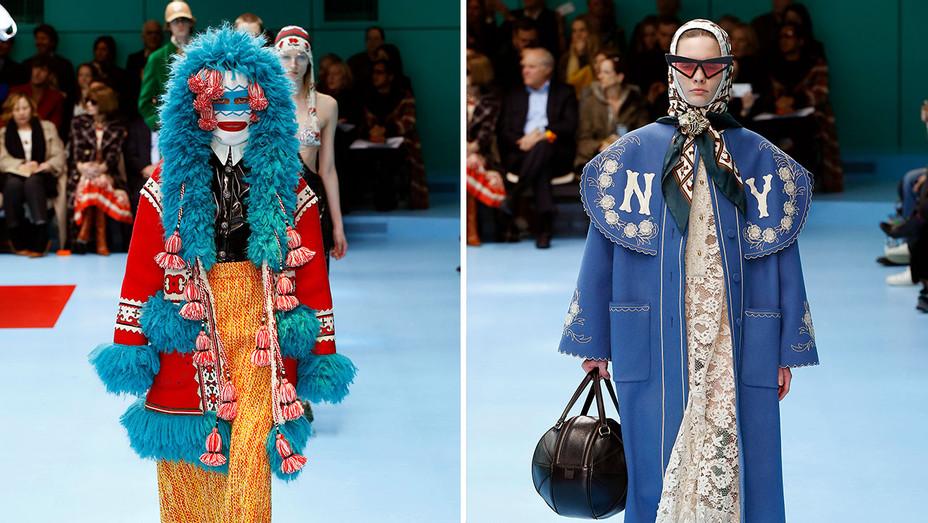 Gucci - Runway - Milan Fashion Week_Split - Getty - H 2018