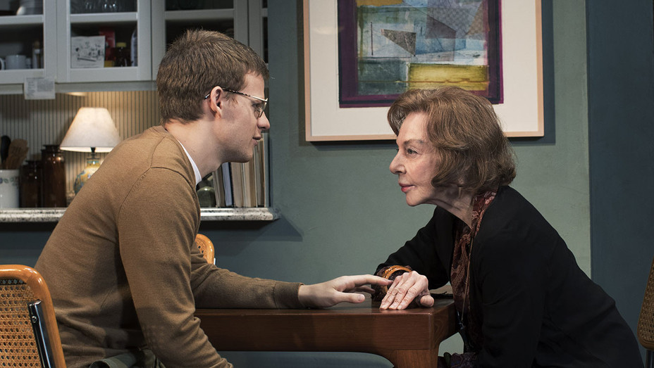 Waverly - Production Still - Lucas Hedges and Elaine May - Publicity-H 2018