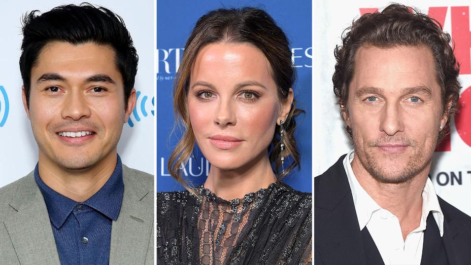 Henry Golding-Kate Beckinsale-Matthew McConaughey-Split-Getty-H 2018
