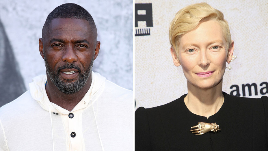 Idris Elba and Tilda Swinton -Split-Getty-H 2018