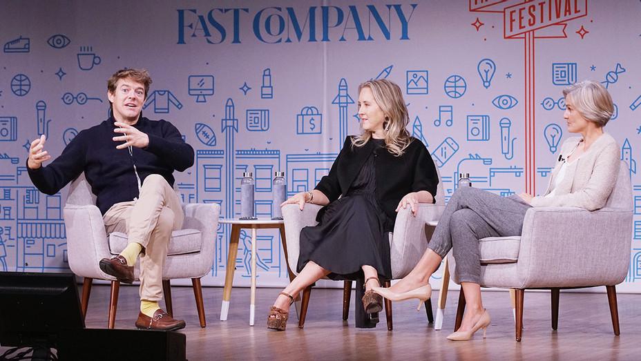 Jason Blum_Jennifer Salke_Fast Company Festival - Getty - H 2018