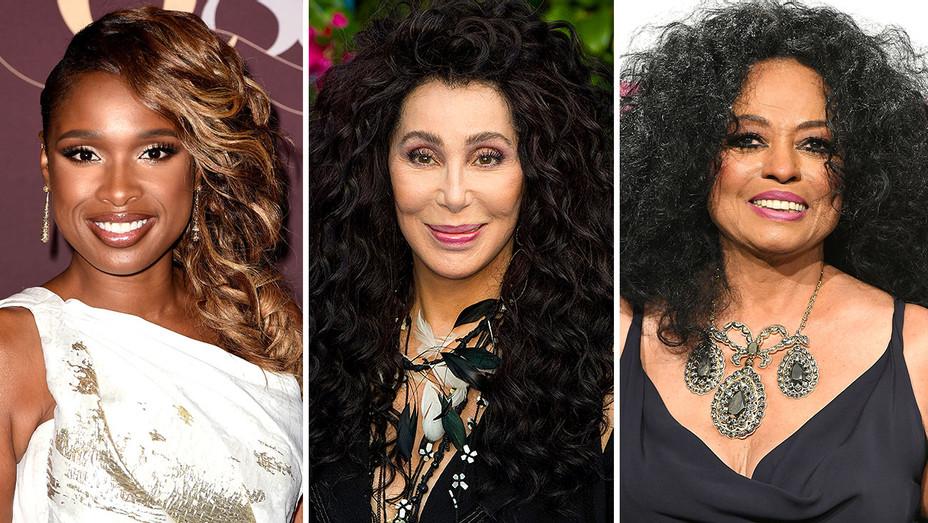 Jennifer Hudson, Cher and Diana Ross - Getty-H 2018