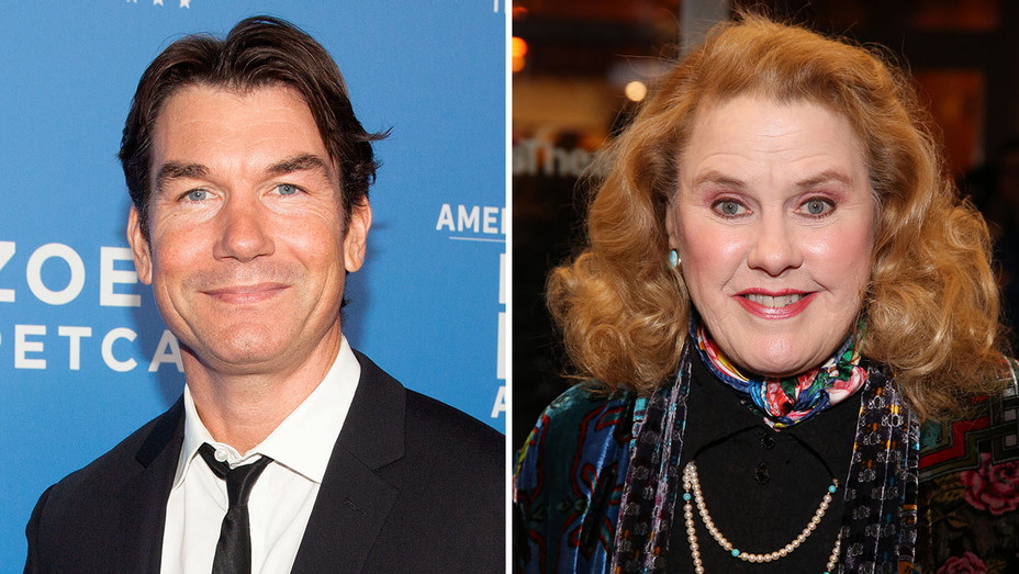Jerry O'Connell and Celia Weston_Split - Getty - H 2018