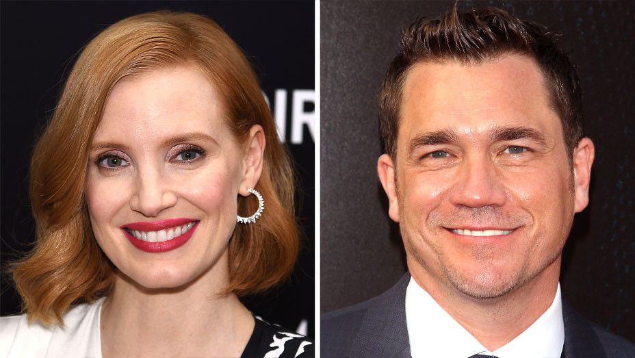 Jessica Chastain - Tate Taylor -SPLIT-Getty-H 2018