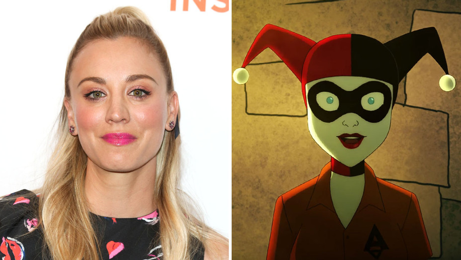 Kaley Cuoco-Harley Quinn- Getty-Screengrab-Split-H 2018