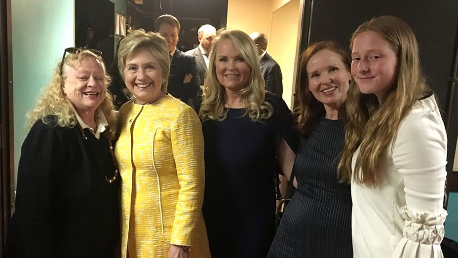 Leslie Todd Farina -Hillary Rodham Clinton- Suzanne Todd- Jennifer Todd-Serena Sawyer-Publicity-H 2018