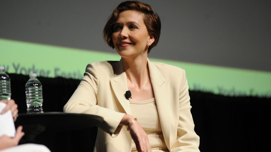 Maggie Gyllenhaal at the New Yorker Festival - Getty - H 2018
