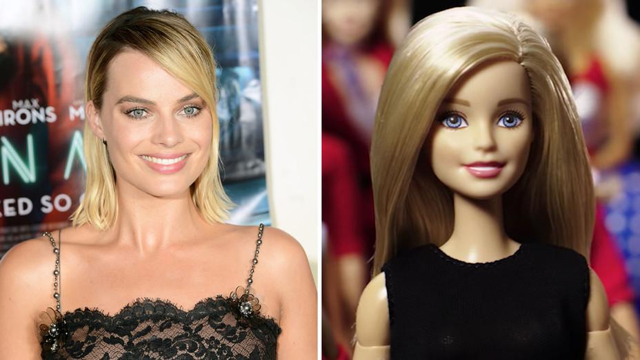 Margot Robbie Barbie - Getty - H Split 2018