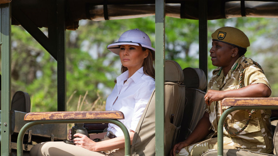 Melania Africa Hat - Getty - H 2018