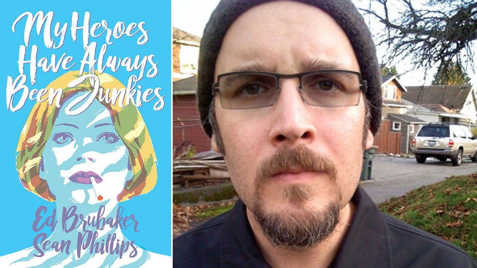 My Heroes Have Always been Junkies Ed Brubaker - Publicity - H Split 2018