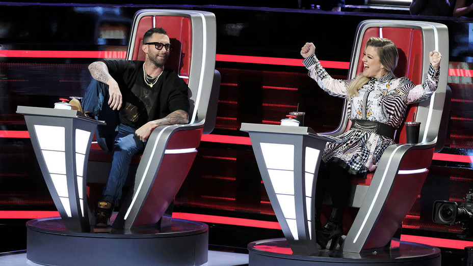 THE VOICE - ?Knockout Rounds? Episode 1511 --Adam Levine, Kelly Clarkson -H 2018