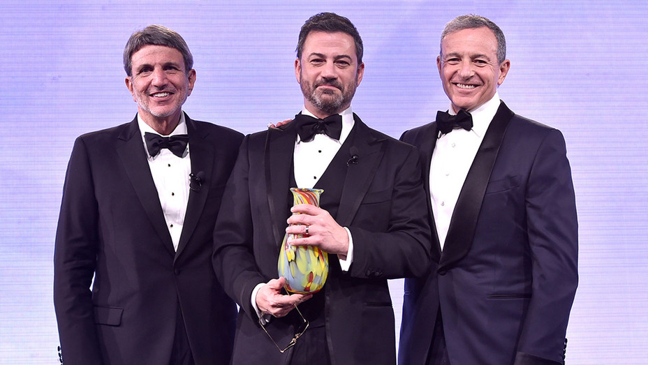 Paul Viviano-Jimmy Kimmel-Paul Iger- Courage to Care-H 2018