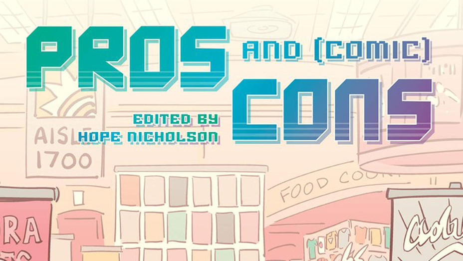 Pros and Comic Cons Cover - Publicity - P 2018