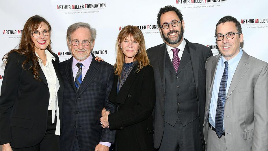Rebecca Miller- Kate Caphsaw- Stephen Spielberg -Tony Kushner - Mark Harris-Getty-H 2018