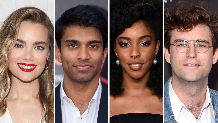 Rebecca Rittenhouse, Nikesh Patel, Jessica Williams and John Reynolds_Split - Getty - H 2018