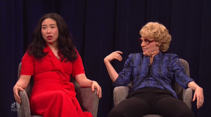 Awkwafina Old Hollywood SNL - Publicity - H 2018