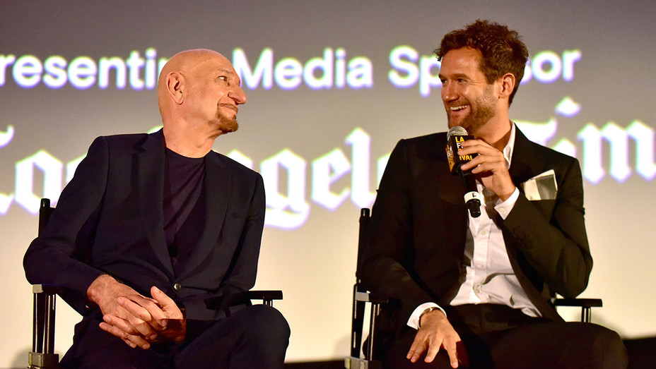 Sir Ben Kingsley -David Raymond -2018 LA Film Festival-Getty H 2018