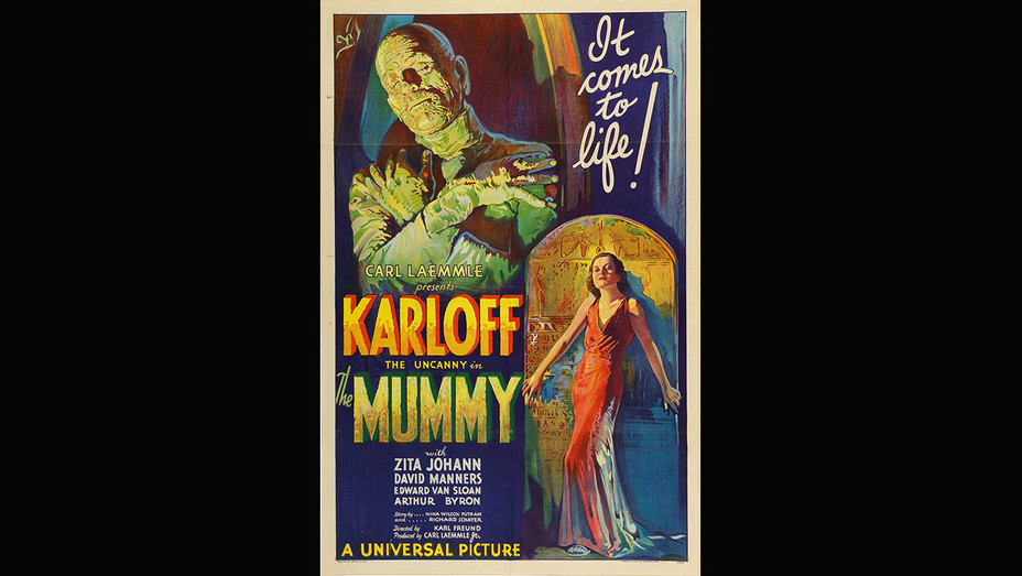 Sotheby's -Confidential -'The Mummy' Film Poster Set to Become World's Most Expensive-Publicity-H 2018