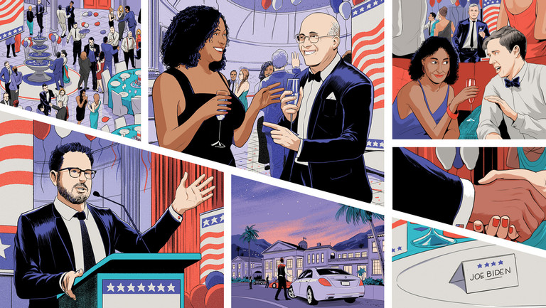 How Hollywood's Political Donors Are Changing Strategies for the Trump Era