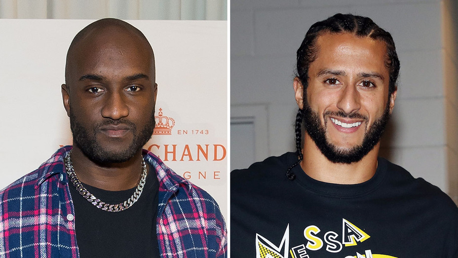 virgil Abloh and Colin Kaepernick_Split - Getty - H 2018
