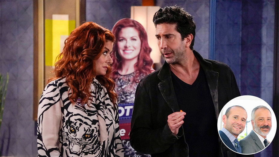 WILL & GRACE S02E03 Still_Max Mutchnick and David Kohan_Inset - Publicity - H 2018