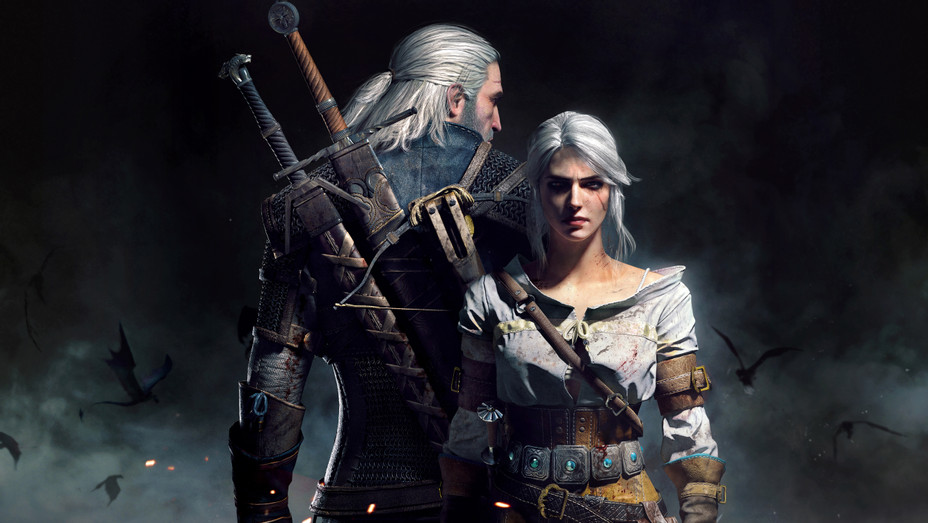 'The Witcher' Geralt and Ciri - H 2018 Publicity