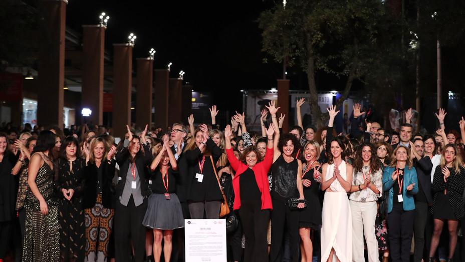 Women in Rome sign Festival Gender Parity Pledge - Getty/Rome Film Festival