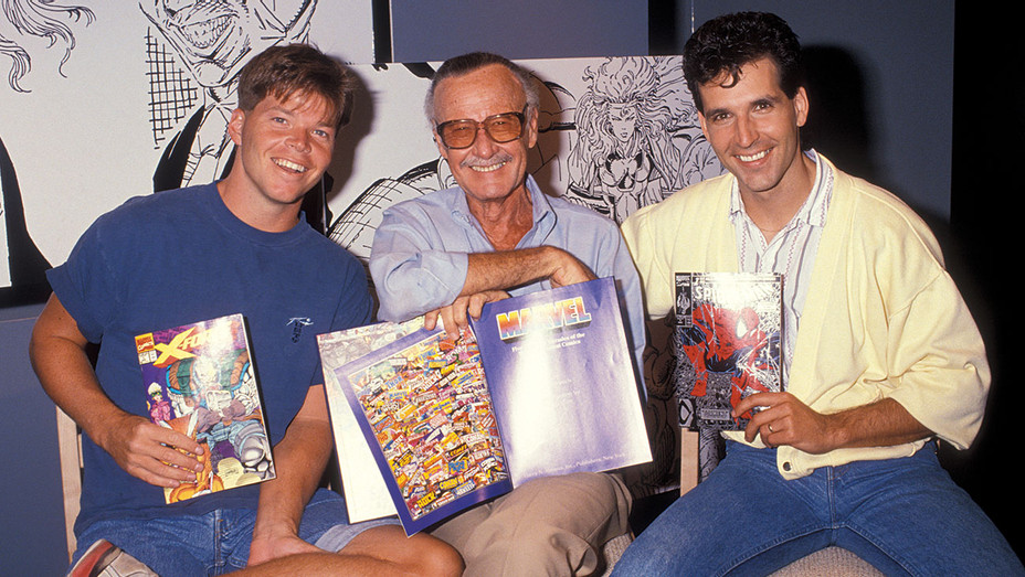 Stan Lee-Rob Liefeld -Todd McFarlane-ONE TIME USE ONLY-Getty-H 2018