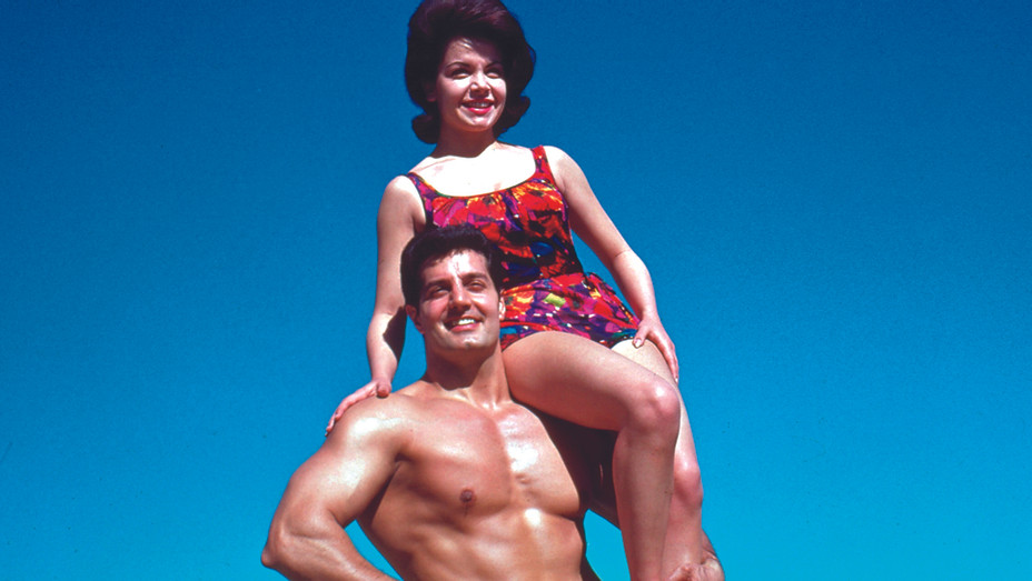 Annette Funicello Muscle Beach — Publicity — H 2018