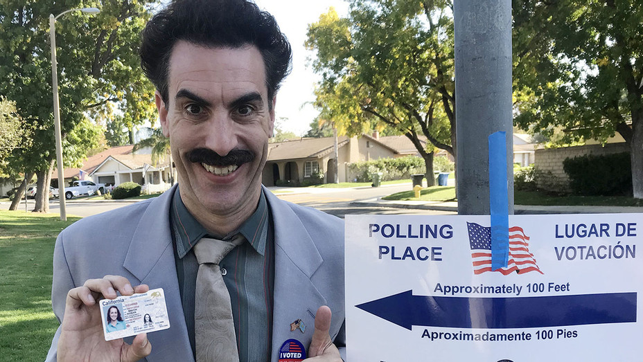 JIMMY KIMME LIVE LIVE -Sacha Baron Cohen- AFTER THE MIDTERMS 11/6/2018 - Publicity-H 2018