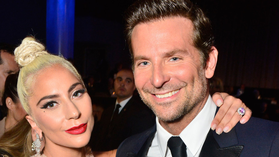 Bradley Cooper and Lady Gaga at American Cinematheque Gala - H Getty 2018