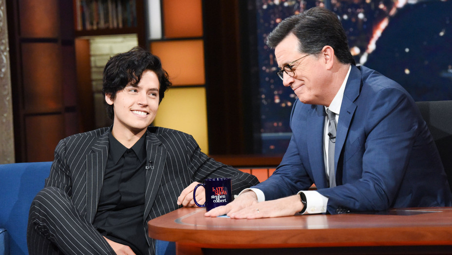 Cole Sprouse-The Late Show-Publicity-H 2018