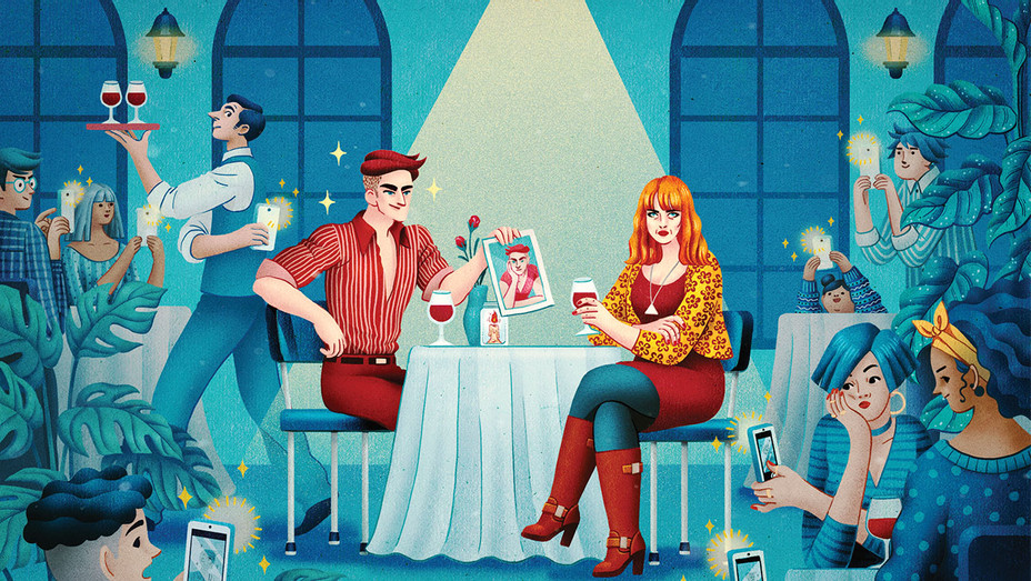 Dating in Hollywood Illo - THR - H 2018