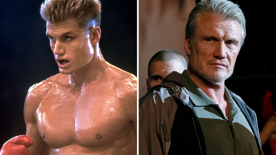 Dolph Lundgren-  Rocky IV and Creed II - Split-H 2018
