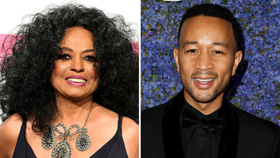 Diana Ross and John Legend - Split-Getty-H 2018