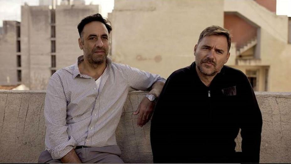 Konstantinos Kontovrakis and Giorgos Karnavas of Greek Production Company Heretic