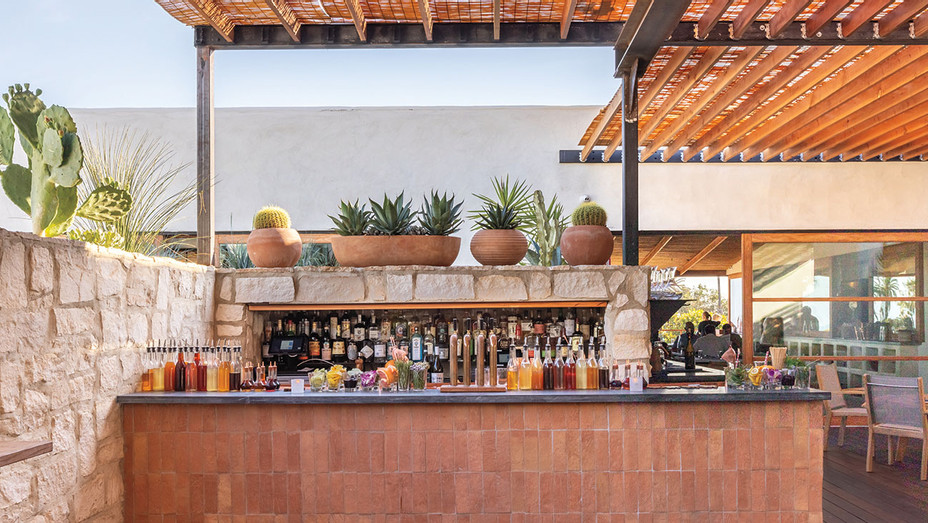 From 40 Love to Elephante- Where to Dine in L.A. After Dark-Elephante-Outdoor Patio Bar-H 2018