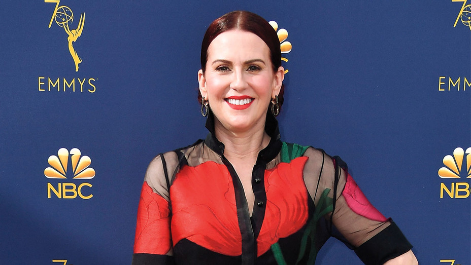 Megan Mullally attends the 70th Emmy Awards - Getty-H 2018