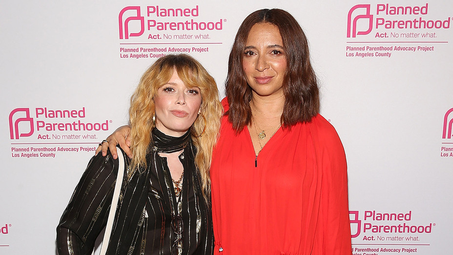 Natasha Lyonne Maya Rudolph Planned Parenthood - Getty - H 2018