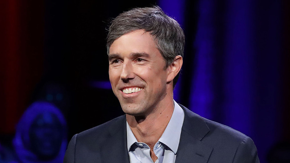 Beto O'Rourke - hall meeting with MSNBC - Getty-H 2018