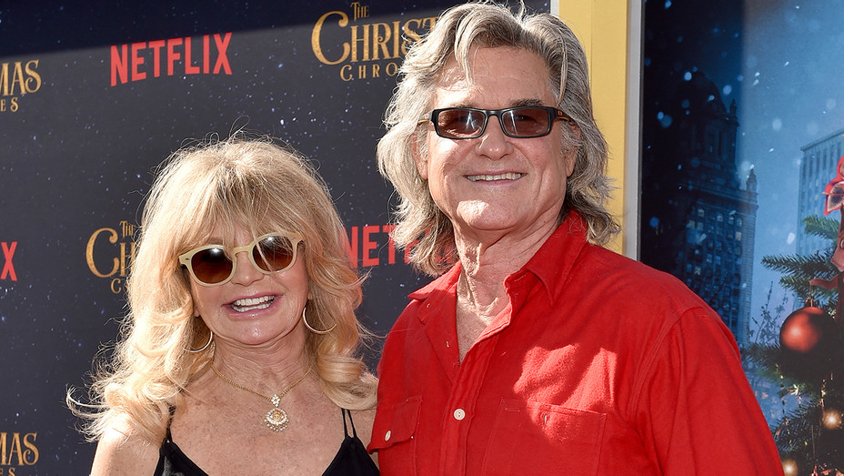 Goldie Hawn Kurt Russell The Christmas Chronicles Premiere - Getty - H 2018