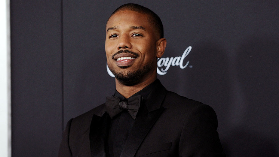 Michael B. Jordan attends the 'Creed II' New York Premiere - Getty-H 2018