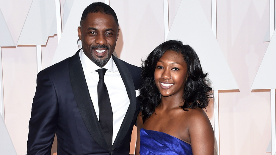 Idris Elba Isan Elba 87th Annual Academy Awards - Getty - H 2018